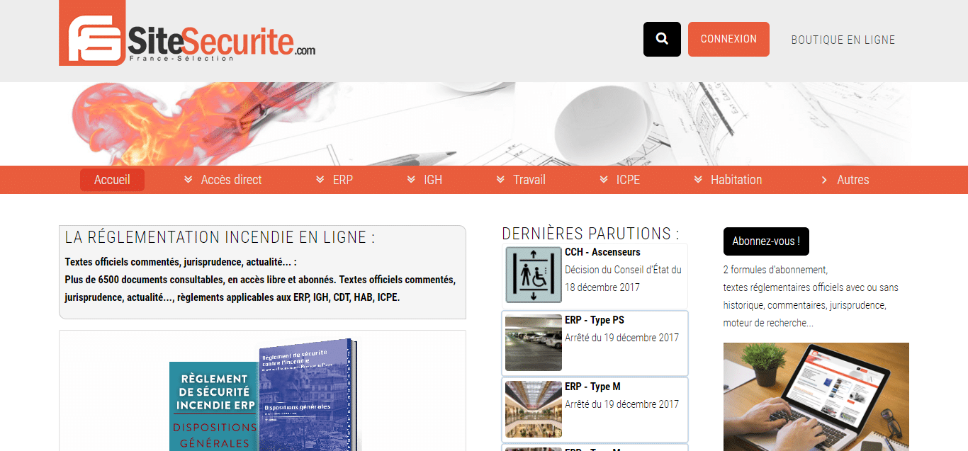 www.sitesecurite.com, portail de ressources SSI